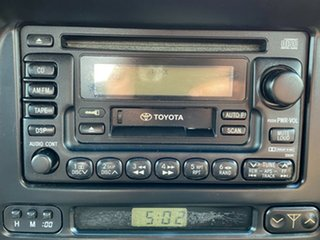 1998 Toyota Landcruiser FZJ105R GXL Green 4 Speed Automatic Wagon