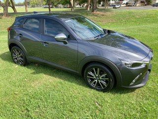 2015 Mazda CX-3 DK2W7A sTouring SKYACTIV-Drive Grey 6 Speed Sports Automatic Wagon