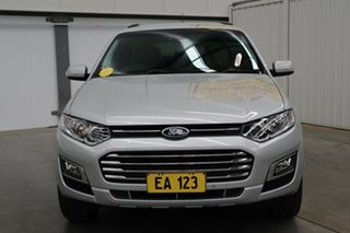 2016 Ford Territory SZ MK2 Titanium (RWD) Silver 6 Speed Automatic Wagon.