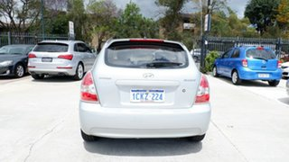 2006 Hyundai Accent MC Silver 4 Speed Automatic Hatchback