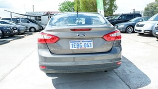 2013 Ford Focus LW MkII Trend PwrShift Brown 6 Speed Auto Sedan