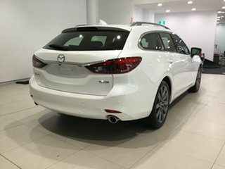 2019 Mazda 6 GL1033 Atenza SKYACTIV-Drive Snowflake White 6 Speed Sports Automatic Wagon.