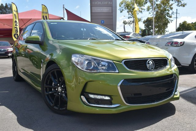 Used Holden Commodore VF II MY16 SV6 Sportwagon Tuggerah, 2015 Holden Commodore VF II MY16 SV6 Sportwagon Green 6 Speed Sports Automatic Wagon