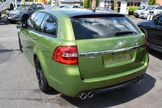 2015 Holden Commodore VF II MY16 SV6 Sportwagon Green 6 Speed Sports Automatic Wagon.