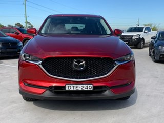 2017 Mazda CX-5 KF4WLA Akera SKYACTIV-Drive i-ACTIV AWD Red 6 Speed Sports Automatic Wagon