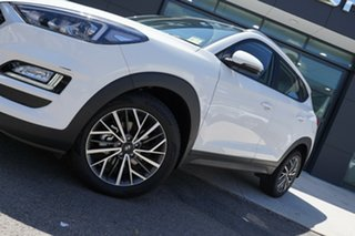 2020 Hyundai Tucson TL4 MY21 Active X (2WD) Pure White 6 Speed Automatic Wagon.