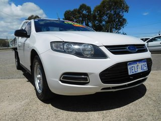 2014 Ford Falcon FG MkII Super Cab White 6 Speed Sports Automatic Cab Chassis