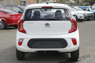 2020 Kia Picanto JA MY21 S Clear White 5 Speed Manual Hatchback