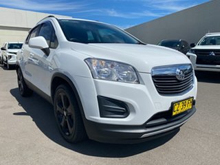 2015 Holden Trax TJ MY15 LS White 6 Speed Automatic Wagon.