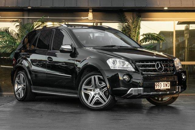 Used Mercedes-Benz M-Class W164 MY10 ML63 AMG Bowen Hills, 2009 Mercedes-Benz M-Class W164 MY10 ML63 AMG Black 7 Speed Sports Automatic Wagon