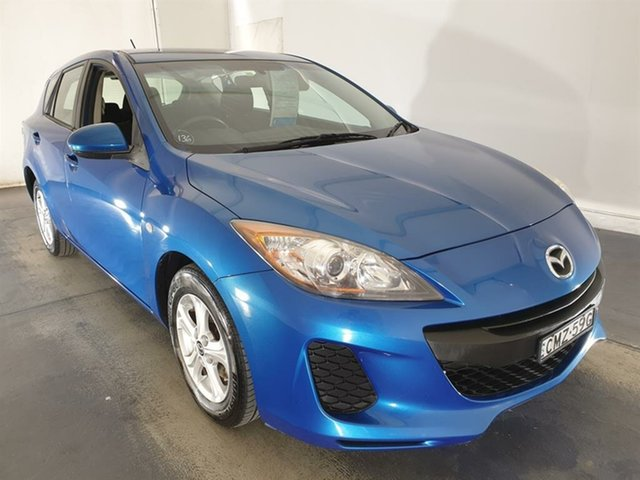 Used Mazda 3 BL10F2 MY13 Neo Maryville, 2013 Mazda 3 BL10F2 MY13 Neo Blue 6 Speed Manual Hatchback