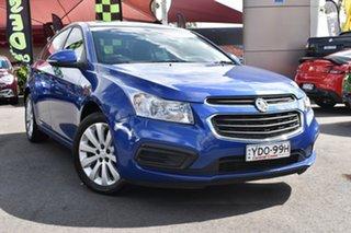 2016 Holden Cruze JH Series II MY16 Equipe Blue 6 Speed Sports Automatic Sedan.