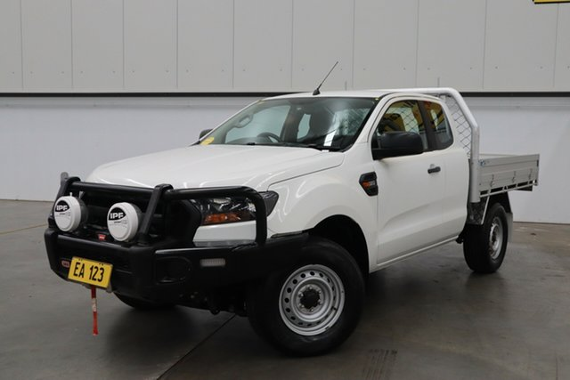 Used Ford Ranger PX MkII MY18 XL 3.2 (4x4) (5 Yr) Castle Hill, 2018 Ford Ranger PX MkII MY18 XL 3.2 (4x4) (5 Yr) White 6 Speed Automatic Crew Cab Chassis