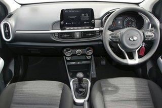 2021 Kia Picanto JA MY21 S Clear White 5 Speed Manual Hatchback