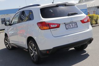 2014 Mitsubishi ASX XB MY15 XLS 2WD Starlight Black 6 Speed Constant Variable Wagon.