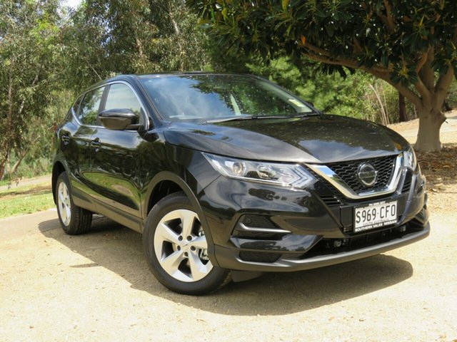 Demo Nissan Qashqai J11 Series 3 MY20 ST X-tronic Morphett Vale, 2020 Nissan Qashqai J11 Series 3 MY20 ST X-tronic Pearl Black 1 Speed Constant Variable Wagon