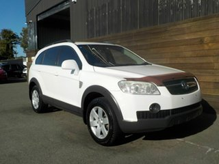 2009 Holden Captiva CG MY09.5 CX AWD White 5 Speed Sports Automatic Wagon.