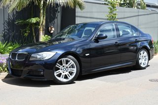 2006 BMW 3 Series E90 335i Steptronic Black 6 Speed Sports Automatic Sedan.