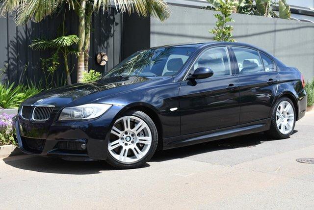 Used BMW 3 Series E90 335i Steptronic Brighton, 2006 BMW 3 Series E90 335i Steptronic Black 6 Speed Sports Automatic Sedan