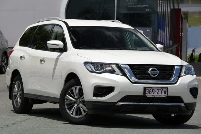 Demo Nissan Pathfinder R52 Series III MY19 ST+ X-tronic 2WD Kedron, 2020 Nissan Pathfinder R52 Series III MY19 ST+ X-tronic 2WD Ivory Pearl 1 Speed Constant Variable