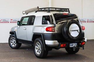 2011 Toyota FJ Cruiser GSJ15R Titanium/White Roof 5 Speed Automatic Wagon.