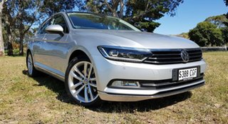 2016 Volkswagen Passat 3C (B8) MY17 140TDI DSG Highline Reflex Silver 6 Speed.