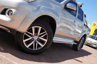 2014 Toyota Hilux KUN26R MY12 SR5 (4x4) Gold 5 Speed Manual Dual Cab Pick-up.