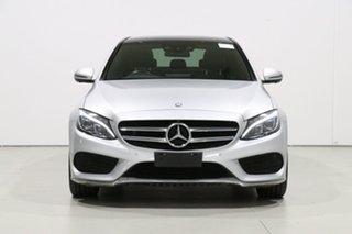 2017 Mercedes-Benz C200 205 MY17.5 Silver 9 Speed Automatic G-Tronic Sedan.