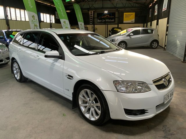 Used Holden Commodore VE MY10 International Sportwagon Hampstead Gardens, 2010 Holden Commodore VE MY10 International Sportwagon White 6 Speed Sports Automatic Wagon