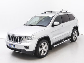 2011 Jeep Grand Cherokee WK Limited (4x4) Silver 5 Speed Automatic Wagon