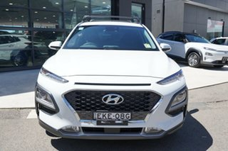 2020 Hyundai Kona OS.3 MY20 Elite (FWD) Chalk White 6 Speed Automatic Wagon