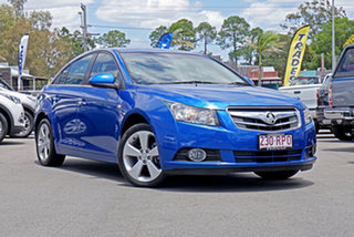 2011 Holden Cruze JG CDX Blue 5 Speed Manual Sedan.