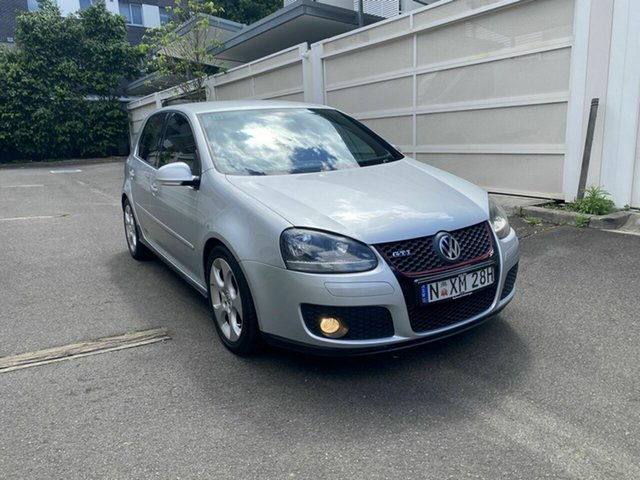 Used Volkswagen Golf V GTi Zetland, 2006 Volkswagen Golf V GTi Silver 6 Speed Manual Hatchback