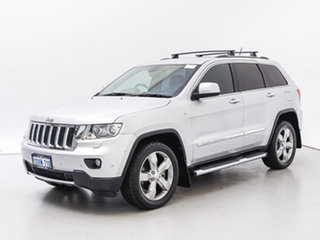 2011 Jeep Grand Cherokee WK Limited (4x4) Silver 5 Speed Automatic Wagon.