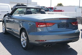 2016 Audi A3 8V MY17 S Tronic Grey 7 Speed Sports Automatic Dual Clutch Cabriolet