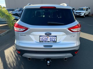 2016 Ford Kuga TF MY16.5 Trend PwrShift AWD Silver 6 Speed Automatic Wagon.