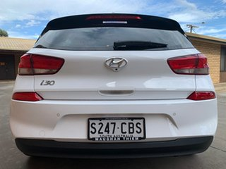 2019 Hyundai i30 PD2 MY20 Elite Polar White 6 Speed Sports Automatic Hatchback