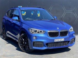 2016 BMW X1 F48 xDrive25i Steptronic AWD Blue 8 Speed Sports Automatic Wagon.