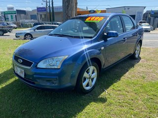2006 Ford Focus Auto Sedan Blue Automatic.