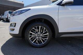 2020 Hyundai Tucson ELITE Elite AWD Pure White 8 Speed Sports Automatic Wagon.