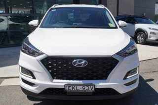 2020 Hyundai Tucson TL4 MY21 Active X (2WD) Pure White 6 Speed Automatic Wagon