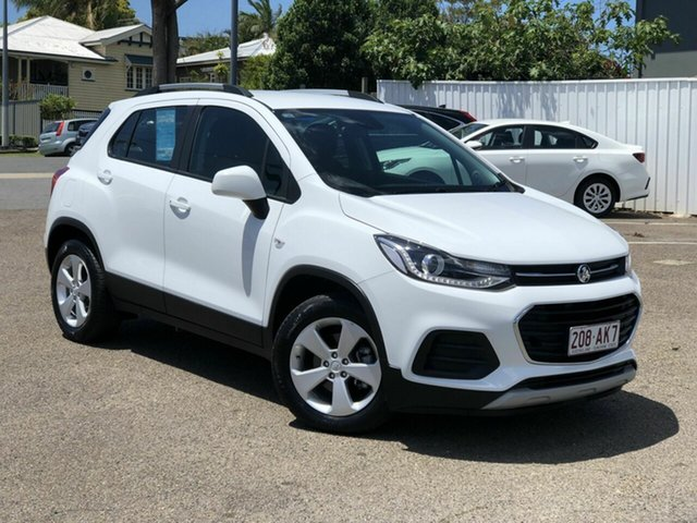 Used Holden Trax TJ MY20 LS Chermside, 2019 Holden Trax TJ MY20 LS White 6 Speed Automatic Wagon