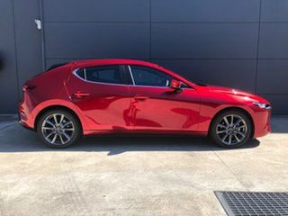 2020 Mazda 3 BP2HLA G25 SKYACTIV-Drive Evolve Soul Red Crystal 6 Speed Sports Automatic Hatchback.