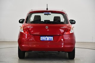 2016 Suzuki Swift FZ MY15 GL Cherry Red 4 Speed Automatic Hatchback