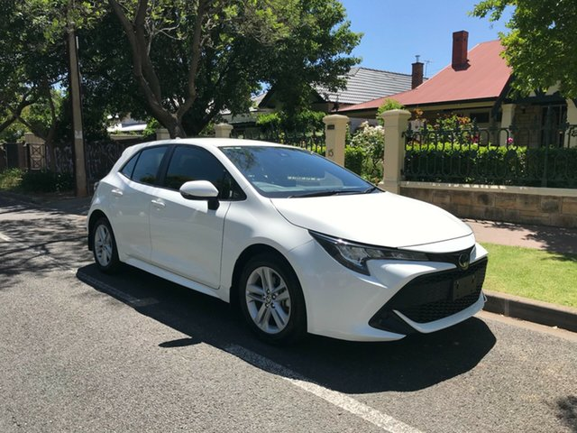Used Toyota Corolla Mzea12R Ascent Sport Hawthorn, 2018 Toyota Corolla Mzea12R Ascent Sport White 10 Speed Constant Variable Hatchback