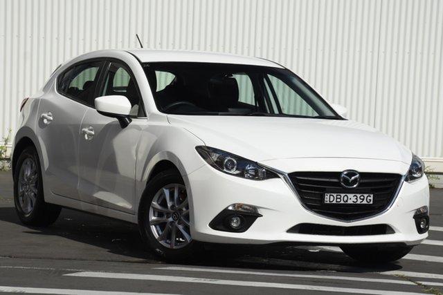Used Mazda 3 BM5478 Maxx SKYACTIV-Drive Wollongong, 2015 Mazda 3 BM5478 Maxx SKYACTIV-Drive White 6 Speed Sports Automatic Hatchback
