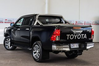 2019 Toyota Hilux GUN126R SR5 Double Cab Eclipse Black 6 Speed Sports Automatic Dual Cab.