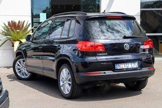 2012 Volkswagen Tiguan 5N MY12.5 132TSI Tiptronic 4MOTION Pacific Black 6 Speed Sports Automatic.
