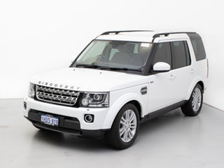 2015 Land Rover Discovery MY15 3.0 SDV6 HSE White 8 Speed Automatic Wagon