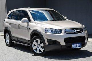 2012 Holden Captiva CG Series II 7 SX Gold 6 Speed Sports Automatic Wagon.
